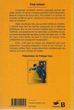 Les Intégrales du Masque - Paul Halter - Volume 2 - Verso - Avril 1999