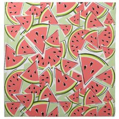 #stylish - #Watermelon Green napkins cloth
