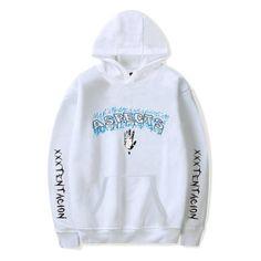 dc83fea8395d2 Newest Fashion xxxtentacion Hoodie Sweatshirt Rip xxxtentacion Hip Hop  Rapper Hoodies Jahsehdresslliy