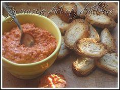 Recette Entrée : Tartinade de chorizo ou pesto de chorizo par Chilubru
