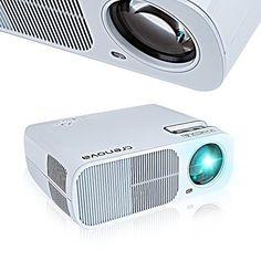 Projector, Crenova XPE600 LED Video Projector 2600 Lumens... http://www.amazon.com/dp/B00WFRVIES/ref=cm_sw_r_pi_dp_QIksxb1CTWF80