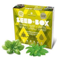 Oferta: 25.95€. Comprar Ofertas de Seed Box SBCOAI - Huerto urbano de albahaca y menta (Colección Aromáticas intensas) barato. ¡Mira las ofertas!