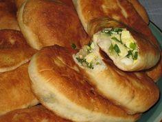 Самые ленивые пирожки с яйцом и зелёным луком за 10 минут - Smak.ua