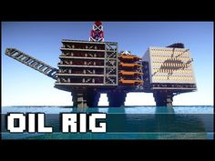 Minecraft - Oil Rig - YouTube