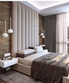 99 Rustic Master Bedroom Design Ideas is part of Rustic master bedroom - 1 Patterns and designs just like in any other interior parts of the house, your master bedroom deserves having […] Rustic Master Bedroom Design, Luxury Bedroom Design, Bedroom Bed Design, Modern Master Bedroom, Minimalist Bedroom, Contemporary Bedroom, Home Decor Bedroom, Home Interior Design, Bedroom Designs