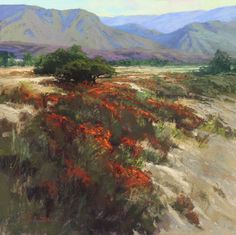 California Tapestry by Kim Lordier Pastel ~ 24 x 24