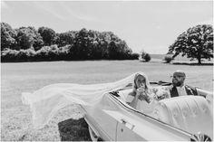 Cadillac wedding car