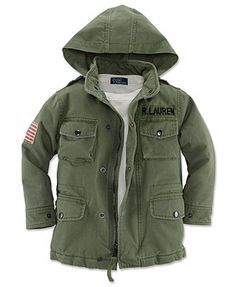 Ralph Lauren Kids Jacket, Little Boys Military Field Jacket