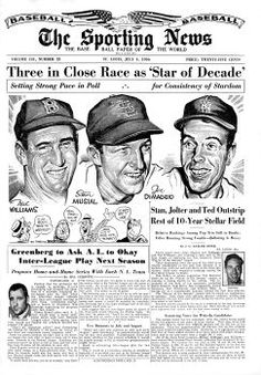 """Image result for """"The sporting news"""" cover"""