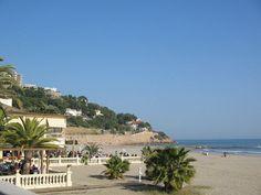 Playa del Voramar en Benicàssim, Castellón
