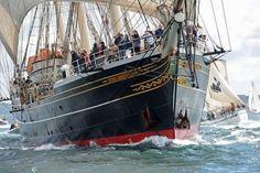 Embarquez à bord d'un voilier pendant les Fêtes de Brest 2016