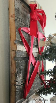 Love this simple holiday decor idea!