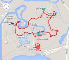 Walking Distance At Disney World   Magic Kingdom Walking Distance