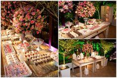 decoracao com rosas casamento no campo - Pesquisa Google