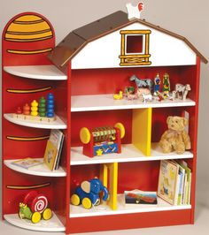 cute barn idea. cUte!! make for Brindlees room cause Mel will have a fit over it too.