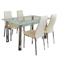 Jídelní židle MILÁNO krémově bílá Dining Chairs, Dining Table, Furniture, Home Decor, Decoration Home, Room Decor, Dinner Table, Dining Chair, Home Furnishings