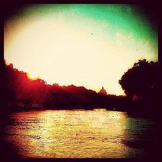 "@ilaria_agostini's photo: ""Tevere river impressions"""