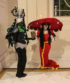 Characters: Xibalba and La Muerte Series: The Book of Life SUBMISSION