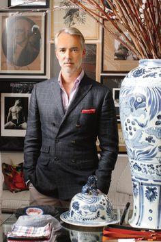 the amazing menswear designer Michael Bastian.