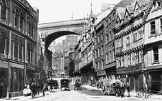 Old photo of c1890, Newcastle Upon Tyne.  Grandfather Harry Sinclair lived in Newcastle during this time period.