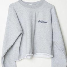 Brandy Melville NWOT California Sweatshirt Nancy sweatshirt with California embroidery on the chest. Brandy Melville Tops Sweatshirts & Hoodies