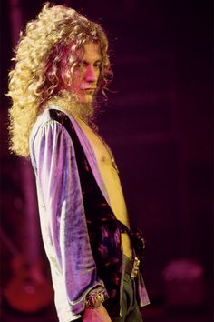 "satya-: "" "" Robert Plant photograpged by Neal Preston in 1975. "" HQ copy: {x} """
