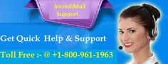 Our incrediMail technical support executive is available 24/7 for customers to provide instant support. If you have any issues, errors or problems in your IncrediMail then you can dial our US toll free number 800-961-1963 to contact support team and get online help.