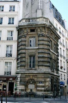 rue de l'Arbre-Sec - La Fontaine de la Croix du Trahoir