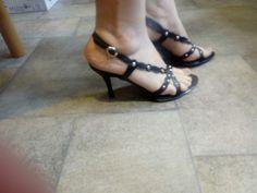 Kaleidoscope heels size 6 - Nice heels, have been worn just few times. Pumps Heels, High Heels, Wardrobe Sale, Occasion Shoes, Black Heels, Sandals, Women, Fashion, Moda