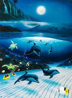 Check out the Wyland gallery in Laguna Beach for amazing marine life art.