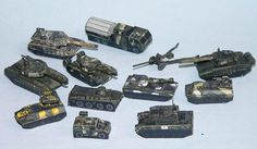 Russian Militaly Vehicles for Wargame Free Paper Models Download