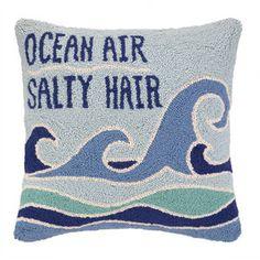 Ocean Air Salty Hair Pillow