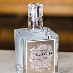 new gin - 'CollaGin' is a new gin that is setting itself apart as an alcohol that's distilled with pure collagen and formulated with pure a...