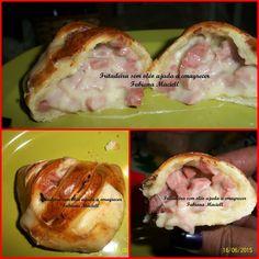Fritadeira sem Óleo AirFryer Ajuda a Emagrecer: Pãozinho fácil Recheado  na Fritadeira sem óleo Ai...