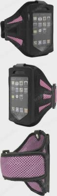 Sport Running Armband Case Pouch To Protect Cellphone OS for iPhone 4G 4S Pink