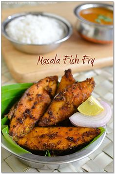 Even my kids are saying it smells so good they can't wait to eat it! Masala Fish Recipes, Prawn Recipes, Fried Fish Recipes, Veg Recipes, Curry Recipes, Seafood Recipes, Indian Food Recipes, Cooking Recipes, Cooking Tips