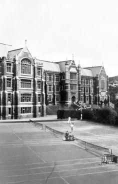 OP_WGTN_037 Wellington City, Building Images, Garden Gazebo, Houses Of Parliament, British Isles, Old Photos, New Zealand, Places To Visit, University