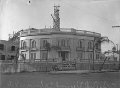 On May 18, 1926, popular evangelist Aimee Semple McPherson disappears, sparking a massive search and national attention. She turns up a month later in New Mexico, with radio announcer Kenneth Ormiston. Here's her mega-church under construction.