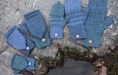 Lasten lapaset x 7 – katso ohjeet ja äänestä kivoimmat! - Kotiliesi.fi Fingerless Gloves, Arm Warmers, Villa, Fashion, Fingerless Mitts, Moda, Cuffs, Fashion Styles, Fingerless Mittens