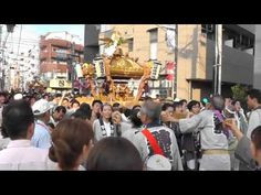 Mikoshi at Mizonokuchi Matsuri 2012 Tokyo, Japan