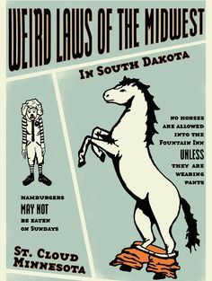 weird laws of the midwest