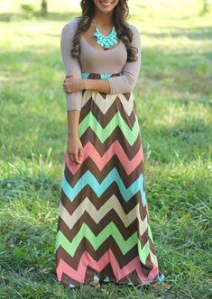 Bohemian 3/4 Sleeve Maxi Dress