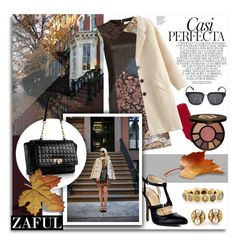 """Zaful 112"" by melissa-de-souza ❤ liked on Polyvore featuring Nicole Miller, Whiteley, tarte, Bulgari, Todd Reed, Calvin Klein and zaful"
