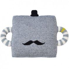 "Blabla pude - ""Hold Me Tight"" Grey Mustache ~ www.banditten.com"