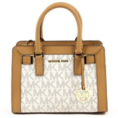 Michael Kors Women's Dillon Top Zip Small Leather Satchel Handbag ** For more information, visit image link. (This is an affiliate link) Leather Satchel Handbags, Tote Handbags, Purses And Handbags, Leather Purses, Tote Purse, Crossbody Bag, Mk Wallet, Michael Kors Tops, Satchels