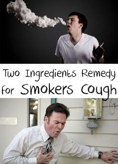 Amazing! Are you a smoker or you simply have problems with cough? Find out an incredibleTwo Ingredients Remedy for Smokers Cough! Your lungs will be healthy