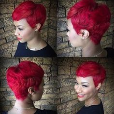 27 Piece Hairstyles, Bump Hairstyles, Pixie Hairstyles, Hairstyle Ideas, Hair Ideas, Short Hair Cuts, Short Hair Styles, Pixie Styles, Pixie Cuts