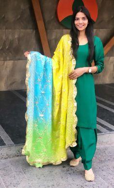 Punjabi Suits, Salwar Suits, Suit Shop, Fashion Hub, Patiala, Stylish Dresses, Fit Women, Kimono Top, Cute Outfits