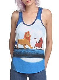 HOTTOPIC.COM - Disney The Lion King Trio Girls Tank Top