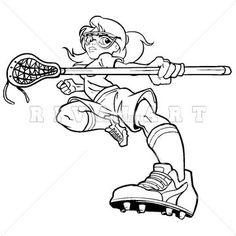 1000 images about lacrosse clip art on pinterest Girls Lacrosse Draw Girls Lacrosse Draw